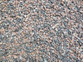 Gravel texture of a colorful Stock Photo