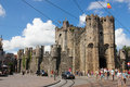 Gravensteen. Castle of the Counts. Ghent. Belgium Royalty Free Stock Photo