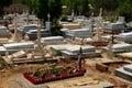 Christian chapel and gravestones