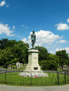 The gravesite of stonewall jackson lexington va – august thomas jonathan in memorial cemetery august in Royalty Free Stock Photos