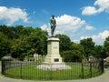 The gravesite of stonewall jackson lexington va – august thomas jonathan in memorial cemetery august in Stock Photos