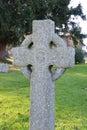 Gravestone a in an english churchyard Stock Photos
