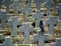 Gravestones Royalty Free Stock Image