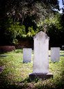Graveyard Headstone Cemetery Royalty Free Stock Photo