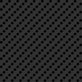 Gray background with perforation metal texture the punched openings Royalty Free Stock Images