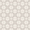 Gray and beige floral pattern seamless abstract with flowers Royalty Free Stock Photo