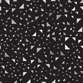 Gray and black right triangle pattern. Seamless vector backgroun