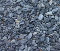 Gray blue rubble stones texture of Stock Image