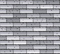 Gray brick wall Stock Photos