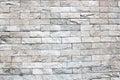 Gray brick wall background Royalty Free Stock Photo