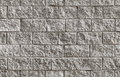 Gray brick wall seamless background texture photo of rough Royalty Free Stock Images