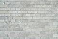 Gray brickwall surface Royalty Free Stock Photo