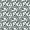 Gray Colors Wave Pattern. Korean traditional Pattern Design Seri Royalty Free Stock Photo