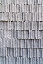 Gray concrete construction block wall background of stack pattern Stock Images