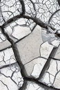 Gray cracked mud dry outdoor extreme close up shoot Stock Images