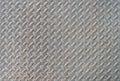 Gray Diamond pattern steel texture Royalty Free Stock Photo