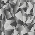 Gray gradient low poly background. Geometric polygonal pattern. Vector Royalty Free Stock Photo