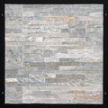 Gray granite natural made from small tiles Royalty Free Stock Photos