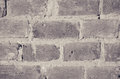 Gray grunge brick wall background. Royalty Free Stock Photo