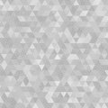 Gray grunge triangles abstract background with spots vector illustration Royalty Free Stock Photos