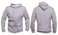 Gray Hoodie Mock up Royalty Free Stock Photo
