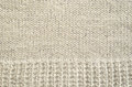 Gray knitted background fabric for Stock Photos