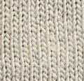 Gray knitted background fabric for Stock Image