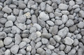 Gray lava rocks on beach Royalty Free Stock Photo