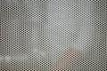 Gray metal grid industrial background pattern texture or Stock Image