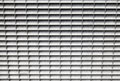 Gray metal panel with lattice grid industrial Stock Images
