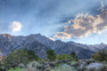 Gray mountain area inyo national forest california this provides another route to mount whitney Royalty Free Stock Photography