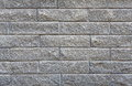 Gray rough brick wall background Royalty Free Stock Photo