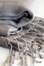 Gray Scarf Stock Photo