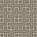 Gray seamless geometric pattern in folk style vector illustration Stock Photo