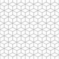 Gray Seamless Square Pattern. ...