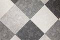 Gray square tiles