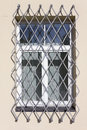 Gray steel lattice Royalty Free Stock Photo