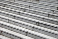 Gray stone steps Royalty Free Stock Photo