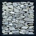 Gray stone wall . Royalty Free Stock Photo