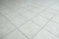 Gray tiled floor texture background Royalty Free Stock Photo