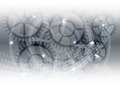 Gray vector technology concept, abstract background