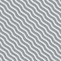 Gray and white wavy lines meshed pattern. Royalty Free Stock Photo