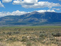 Grazing land in eastern central Nevada Royalty Free Stock Image