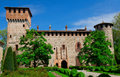Grazzano visconti castle view of Stock Image