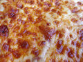 Greasy Pizza Cheese Royalty Free Stock Image