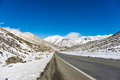 Great Alpine highway Arthurs Pass. New Zealand Royalty Free Stock Photo