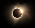 The Great American Eclipse August 2017 Royalty Free Stock Photo