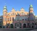 Great Armoury in Gdansk Royalty Free Stock Photography