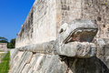 Great ball court of Chichen Itza, Mexico Stock Photo