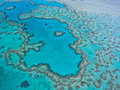 Great Barrier Reef - Aerial View Royalty Free Stock Photo